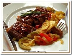 Char Grilled Sirloin & Bacon Gravy em