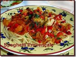 Spaghetti Provençale
