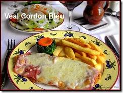Veal Cordon Bleu