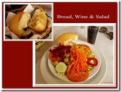Salad & bread b